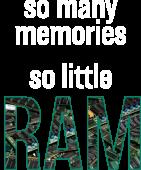 Принт Little RAM вариант 2