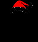 Принт Помощник Деда Мороза вариант 2