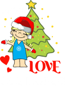 Принт Мой Дед Мороз вариант 2