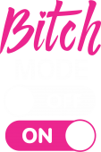 Принт Bitch mode вариант 2