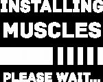 Принт Installing muscles вариант 1