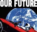 Принт Our future вариант 1