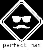Принт Perfect man вариант 2