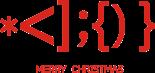 Принт Рождество символы вариант 1