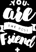 Принт The best friend вариант 3