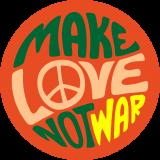 Принт Make love вариант 2