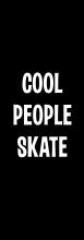Принт Cool people skate вариант 2