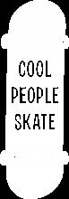 Принт Cool people skate вариант 1