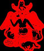 Принт Hell cats вариант 2