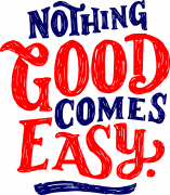 Принт Nothing good вариант 1