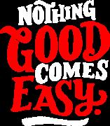Принт Nothing good вариант 3