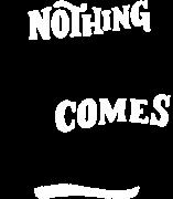 Принт Nothing good вариант 4