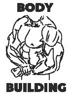 Принт Body building вариант 1