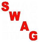 Принт SWAG вариант 1