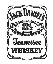 Принт Jack Daniels вариант 2