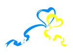 Принт Українські серця вариант 2