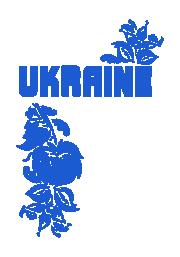 Принт Ukraine flowers вариант 2