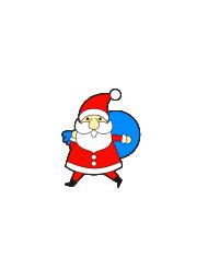 Принт Дед Мороз мозги не парит вариант 1