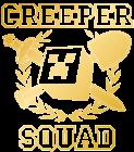 Принт Creeper squad вариант 2