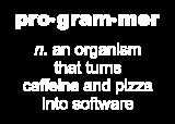Принт Programmer вариант 2