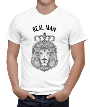 Real man lion